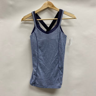 Primary Photo - BRAND: LULULEMON STYLE: ATHLETIC TANK TOP COLOR: BLUE SIZE: 4 SKU: 194-194234-927
