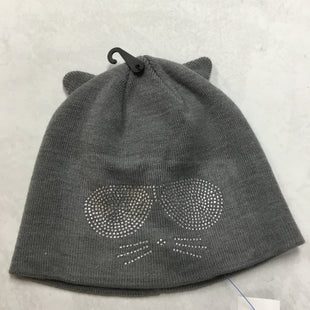 Primary Photo - BRAND: KARL LAGERFELD STYLE: HAT COLOR: GREY OTHER INFO: NEW! SKU: 194-194183-20389