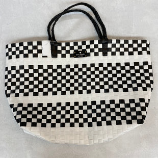 Primary Photo - BRAND: KATE SPADE STYLE: TOTE COLOR: BLACK WHITE SIZE: LARGEOTHER INFO: 23 X 5.5 X 13.5 INCHES SKU: 194-194225-3147