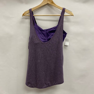 Primary Photo - BRAND: LULULEMON STYLE: ATHLETIC TANK TOP COLOR: PURPLE SIZE: 4 SKU: 194-194234-909