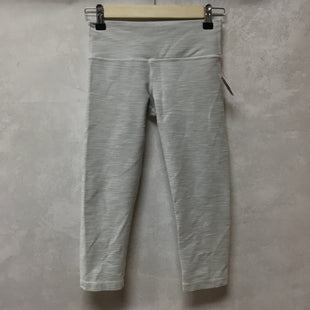 Primary Photo - BRAND: LULULEMON STYLE: ATHLETIC CAPRIS COLOR: OFF WHITE SIZE: 2 SKU: 194-19414-38296