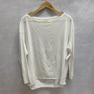 Primary Photo - BRAND: LULULEMON STYLE: ATHLETIC TOP COLOR: WHITE SIZE: L SKU: 194-194229-1996