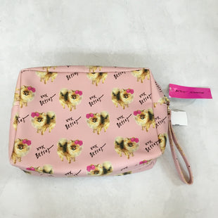 Primary Photo - BRAND: BETSEY JOHNSON STYLE: HANDBAG COLOR: LIGHT PINK SIZE: LARGE OTHER INFO: NEW! SKU: 194-194183-2265512X8X4