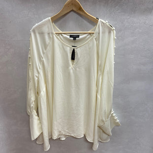 Primary Photo - BRAND: LANE BRYANT STYLE: TOP LONG SLEEVE COLOR: CREAM SIZE: 3X OTHER INFO: NEW! SKU: 194-194172-22500