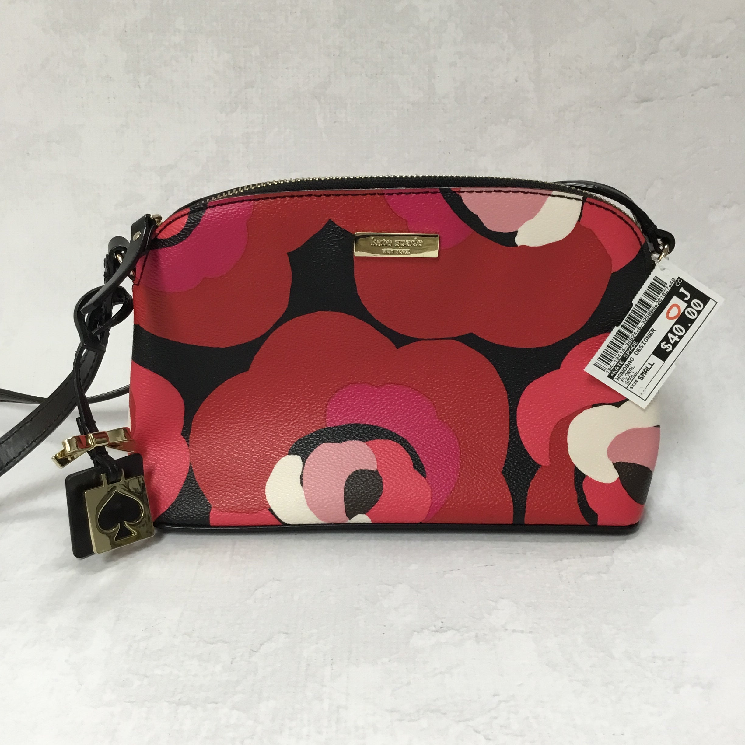 Primary Photo - BRAND: KATE SPADE <BR>STYLE: HANDBAG DESIGNER <BR>COLOR: FLORAL <BR>SIZE: SMALL <BR>SKU: 194-19414-36824<BR>9X6.5X3