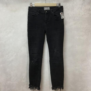 Primary Photo - BRAND: FREE PEOPLE STYLE: PANTS COLOR: BLACK DENIM SIZE: 2 SKU: 194-19414-38010