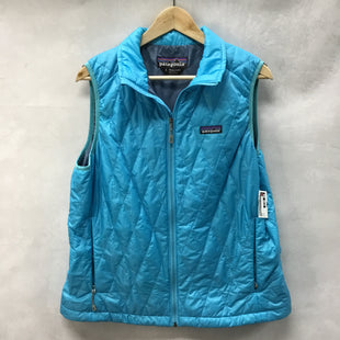 Primary Photo - BRAND: PATAGONIA STYLE: VEST COLOR: BLUE SIZE: L SKU: 194-194225-2337