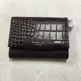Primary Photo - BRAND:  RADLEYSTYLE: WALLET COLOR: MAROON SIZE: SMALL SKU: 194-194167-31774