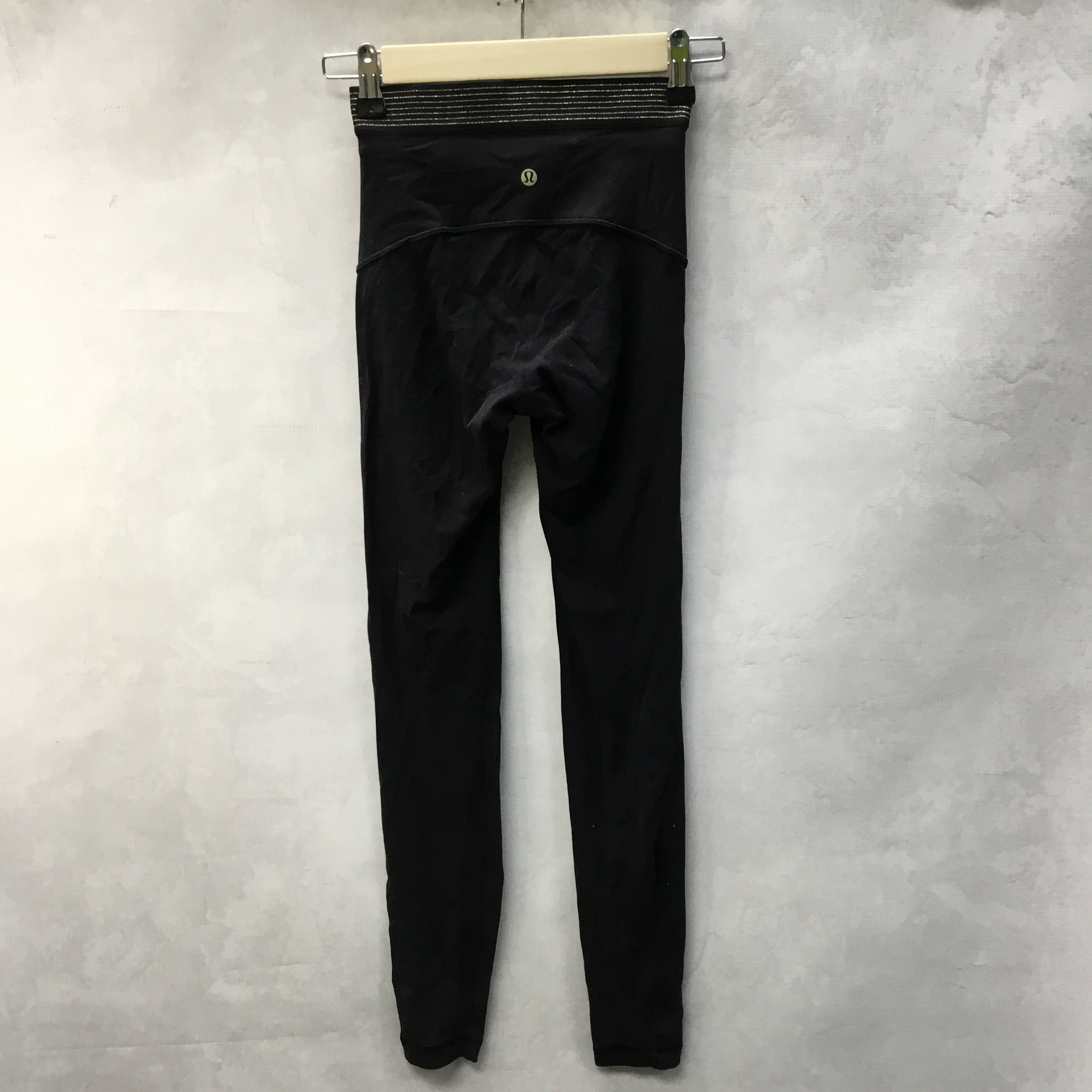Photo #1 - BRAND: LULULEMON <BR>STYLE: ATHLETIC PANTS <BR>COLOR: BLACK <BR>SIZE: 2 <BR>SKU: 194-194167-33259