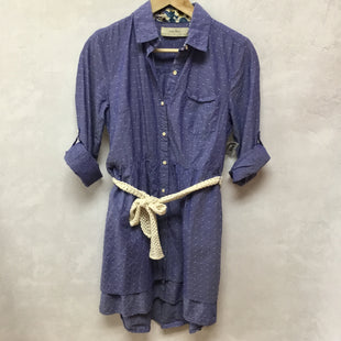 Primary Photo - BRAND: ISABELLA SINCLAIRSTYLE: DRESS SHORT LONG SLEEVE COLOR: DENIM SIZE: S SKU: 194-194236-639