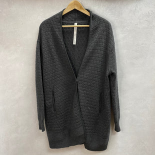 Primary Photo - BRAND: LULULEMON STYLE: SWEATER CARDIGAN HEAVYWEIGHT COLOR: BLACK SIZE: XS SKU: 194-19414-37565