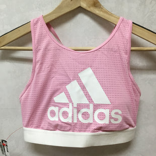 Primary Photo - BRAND: ADIDAS STYLE: BRA COLOR: PINK SIZE: M SKU: 194-194231-1663