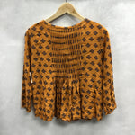 Photo #1 - BRAND: ANTHROPOLOGIE <BR>STYLE: TOP LONG SLEEVE <BR>COLOR: ORANGE <BR>SIZE: XS <BR>SKU: 194-194167-33237