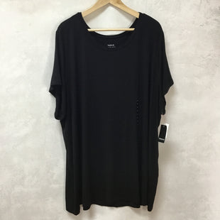 Primary Photo - BRAND: TORRID STYLE: TOP SHORT SLEEVE BASIC COLOR: BLACK SIZE: 5X OTHER INFO: NEW! SKU: 194-194225-1856