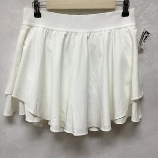 Primary Photo - BRAND: LULULEMON STYLE: ATHLETIC SKIRT SKORT COLOR: WHITE SIZE: 8 SKU: 194-194225-2915