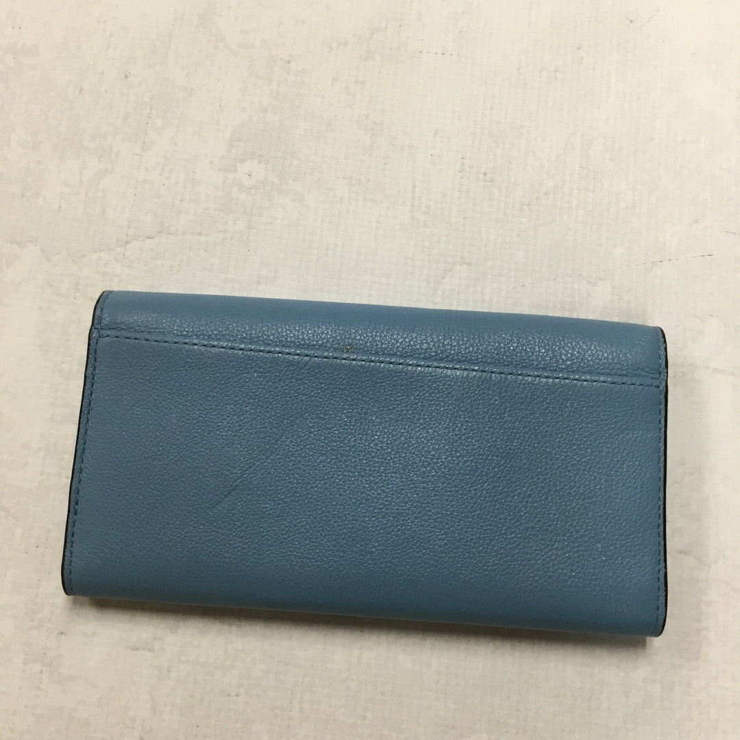 Photo #1 - BRAND: COACH <BR>STYLE: WALLET <BR>COLOR: BLUE <BR>SIZE: LARGE <BR>SKU: 194-194194-6714