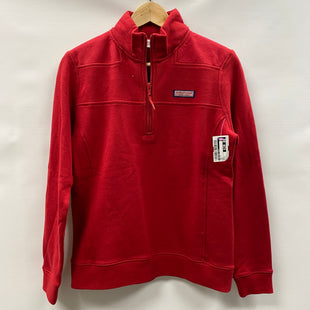 Primary Photo - BRAND: VINEYARD VINES STYLE: TOP LONG SLEEVE COLOR: RED SIZE: S OTHER INFO: NEW! SKU: 194-194167-34162