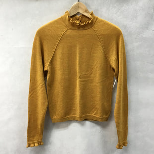 Primary Photo - BRAND: FREE PEOPLE STYLE: TOP LONG SLEEVE COLOR: MUSTARD SIZE: S SKU: 194-194231-1534