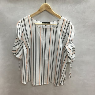Primary Photo - BRAND: ELOQUII STYLE: TOP SHORT SLEEVE COLOR: STRIPED SIZE: 1X OTHER INFO: NEW! SKU: 194-194183-19535