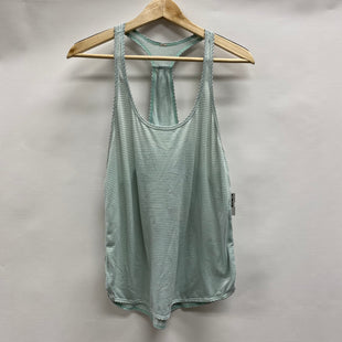 Primary Photo - BRAND: LULULEMON STYLE: ATHLETIC TANK TOP COLOR: SEAFOAM SIZE: 6 SKU: 194-194229-3301