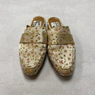 Primary Photo - BRAND: SAKS FIFTH AVENUE STYLE: SHOES FLATS COLOR: FLORAL SIZE: 8 OTHER INFO: PURE NAVY- AS IS SKU: 194-19414-36664