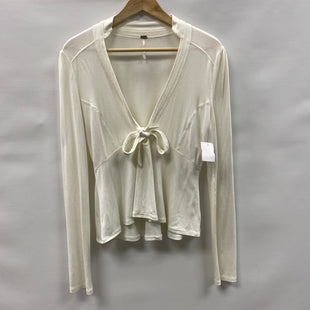 Primary Photo - BRAND: FREE PEOPLE STYLE: TOP LONG SLEEVE COLOR: WHITE SIZE: M SKU: 194-194238-448