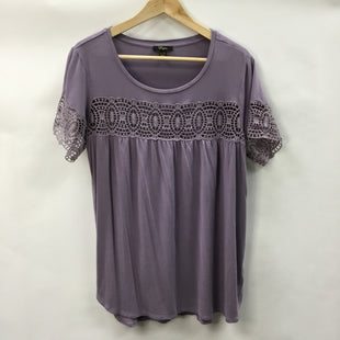 Primary Photo - BRAND: CUPIO STYLE: TOP SHORT SLEEVE COLOR: PURPLE SIZE: XL SKU: 194-194167-31411