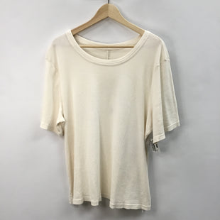 Primary Photo - BRAND: FABLETICS STYLE: ATHLETIC TOP SHORT SLEEVE COLOR: CREAM SIZE: 2X OTHER INFO: NEW! SKU: 194-194238-411