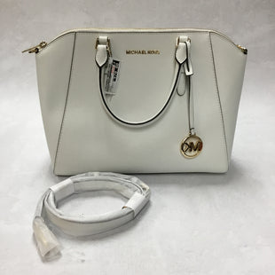 Primary Photo - BRAND: MICHAEL KORS STYLE: HANDBAG DESIGNER COLOR: WHITE SIZE: MEDIUM OTHER INFO: 14 X 6 X 10.5 INCHESSKU: 194-194194-6507