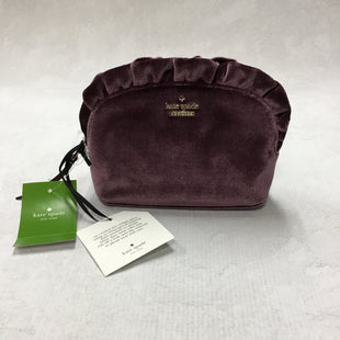 Primary Photo - BRAND: KATE SPADE STYLE: MAKEUP BAG COLOR: PURPLE OTHER INFO: 6 X 2 5 INCHES SKU: 194-194167-30259