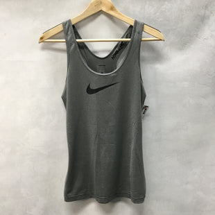Primary Photo - BRAND: NIKE APPAREL STYLE: ATHLETIC TANK TOP COLOR: GREY SIZE: S SKU: 194-194234-513