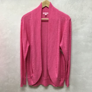 Primary Photo - BRAND: LILLY PULITZER STYLE: SWEATER CARDIGAN LIGHTWEIGHT COLOR: PINK SIZE: XL SKU: 194-194234-961