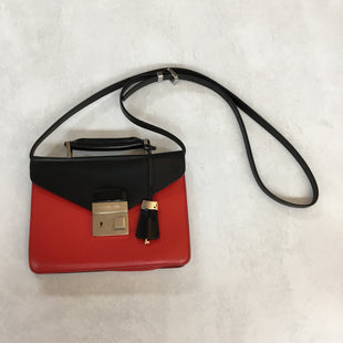 Primary Photo - BRAND: MICHAEL KORS STYLE: HANDBAG DESIGNER COLOR: RED BLACK SIZE: SMALL SKU: 194-194197-130538.5X6.5X1