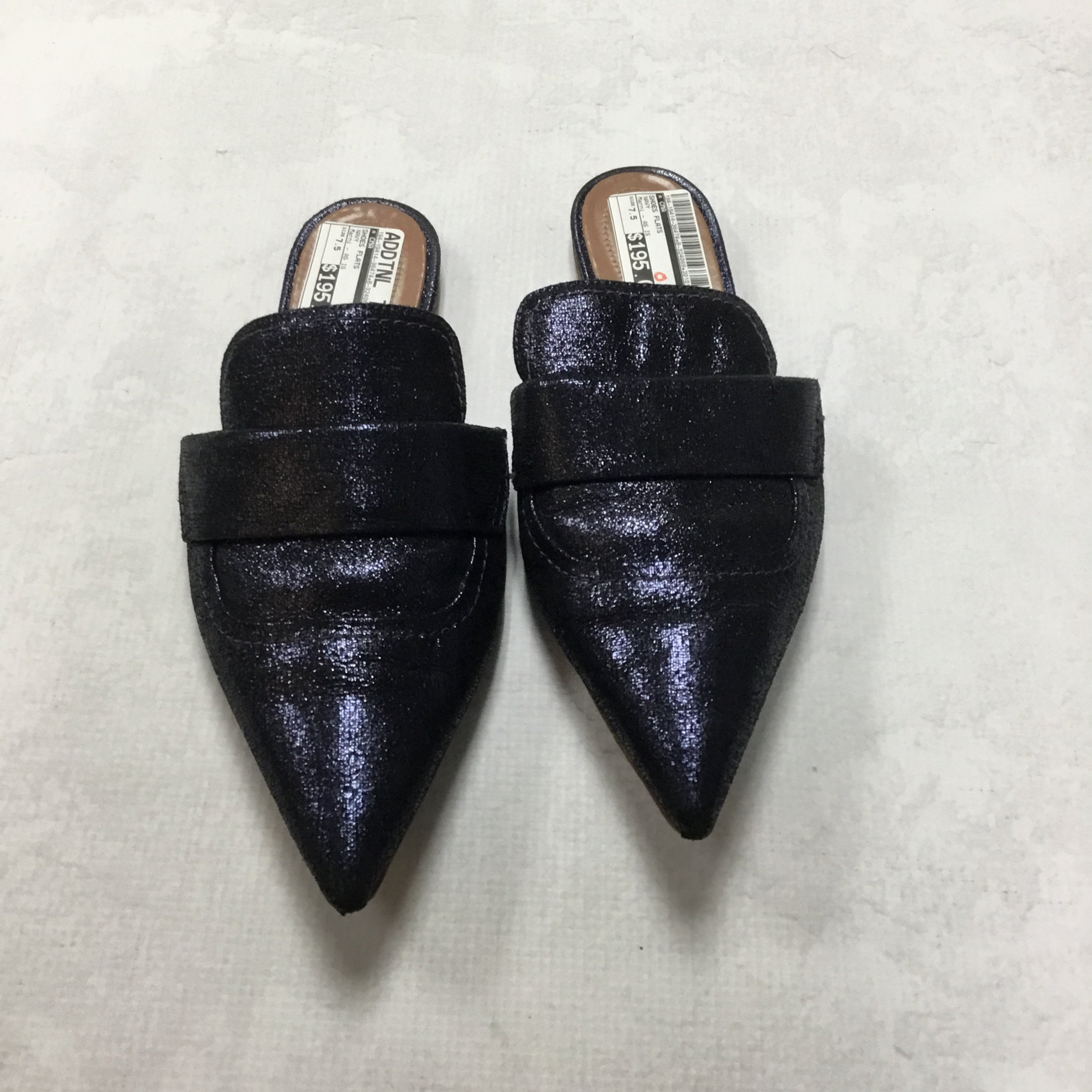 Primary Photo - BRAND:  CMA <BR>STYLE: SHOES FLATS <BR>COLOR: NAVY <BR>SIZE: 7.5 <BR>OTHER INFO: MARNI - AS IS <BR>SKU: 194-19414-36474
