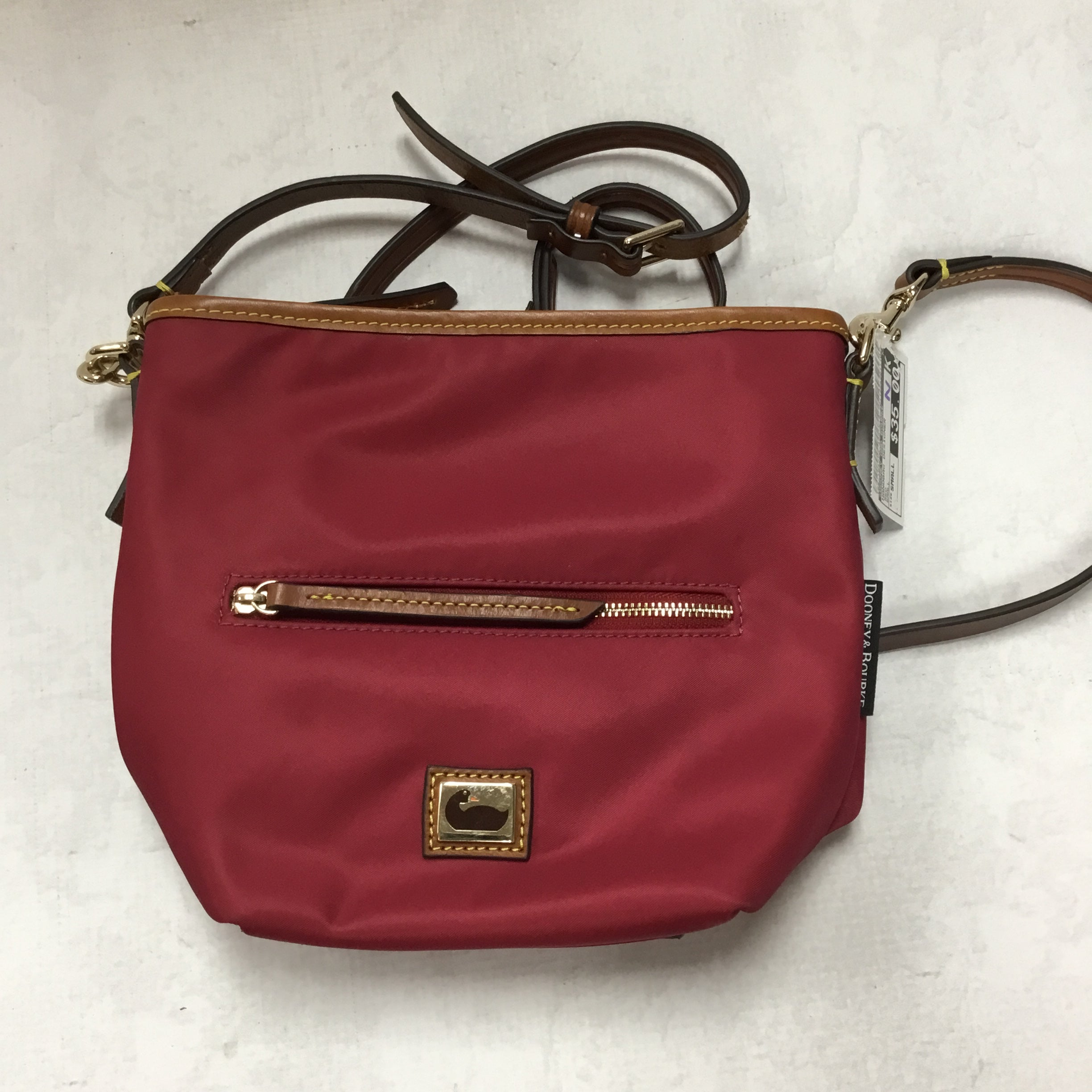 Primary Photo - BRAND: DOONEY AND BOURKE <BR>STYLE: HANDBAG DESIGNER <BR>COLOR: PINK<BR>SIZE: SMALL <BR>OTHER INFO: 9 X 3.5 X 8 INCH<BR>SKU: 194-194220-4297R