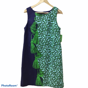 Primary Photo - BRAND: LILLY PULITZER STYLE: DRESS SHORT SLEEVELESS COLOR: BLUE GREEN SIZE: L OTHER INFO: NEW! SKU: 194-194183-21994