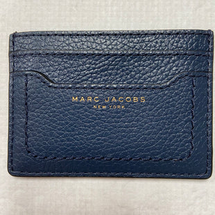Primary Photo - BRAND: MARC JACOBS STYLE: WALLET COLOR: NAVY SIZE: SMALL OTHER INFO: CARD HOLDER SKU: 194-19414-36685