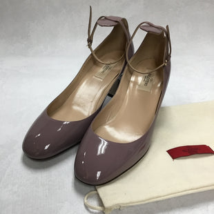 Primary Photo - BRAND: VALENTINO STYLE: SHOES LOW HEEL COLOR: PURPLE SIZE: 10 OTHER INFO: TANGO PATENT LEATHER PUMPS AS IS SKU: 194-19414-36298