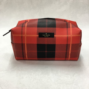 Primary Photo - BRAND: KATE SPADE STYLE: MAKEUP BAG COLOR: PLAID OTHER INFO: 7.5 X 4 X 4 INCHESSKU: 194-194231-125R