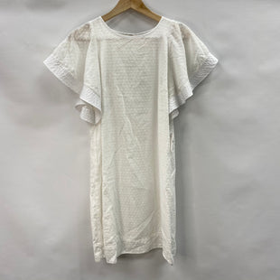 Primary Photo - BRAND: J CREW STYLE: DRESS SHORT SHORT SLEEVE COLOR: WHITE SIZE: 00SKU: 194-194194-10202
