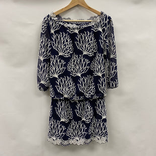 Primary Photo - BRAND: LILLY PULITZER STYLE: DRESS SHORT LONG SLEEVE COLOR: NAVY SIZE: 2SKU: 194-194231-1326