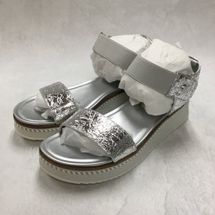 Primary Photo - BRAND: FRANCO SARTO STYLE: SANDALS FLAT COLOR: SILVER SIZE: 9.5 OTHER INFO: NEW! SKU: 194-194167-31419