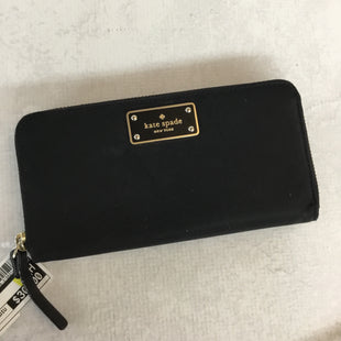 Primary Photo - BRAND: KATE SPADE STYLE: WALLET COLOR: BLACK SIZE: MEDIUM OTHER INFO: AS IS SKU: 194-19414-35111