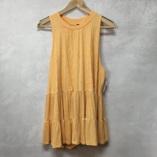 Primary Photo - BRAND: FREE PEOPLE STYLE: DRESS SHORT SLEEVELESS COLOR: YELLOW SIZE: XS SKU: 194-194231-2189