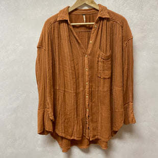 Primary Photo - BRAND: FREE PEOPLE STYLE: TOP LONG SLEEVE COLOR: ORANGE SIZE: XS SKU: 194-194229-4466