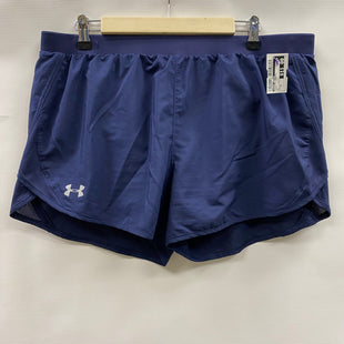 Primary Photo - BRAND: UNDER ARMOUR STYLE: ATHLETIC SHORTS COLOR: NAVY SIZE: XL SKU: 194-194194-10504