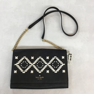 Primary Photo - BRAND: KATE SPADE STYLE: HANDBAG DESIGNER COLOR: BLACK WHITE SIZE: SMALL OTHER INFO: AS IS SKU: 194-194229-143110X7X1