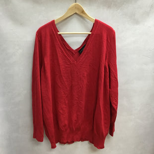 Primary Photo - BRAND: LANE BRYANT STYLE: TOP LONG SLEEVE COLOR: RED SIZE: 3X SKU: 194-194197-13336