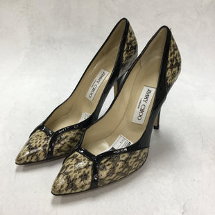 Primary Photo - BRAND: JIMMY CHOO STYLE: SHOES DESIGNER COLOR: SNAKESKIN PRINT SIZE: 7 OTHER INFO: 4 INCH HEELSKU: 194-19414-39143