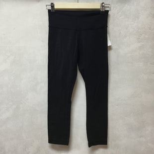 Primary Photo - BRAND: LULULEMON STYLE: ATHLETIC CAPRIS COLOR: BLACK SIZE: 2 OTHER INFO: AS IS SKU: 194-19414-38298